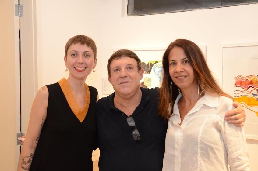 Giselle Wittmann, Marcelo Valls e Claudi