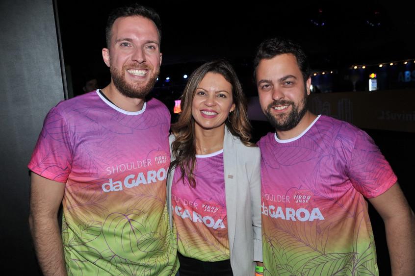 Vinicius Poit, Patricia Ellen e Ricardo