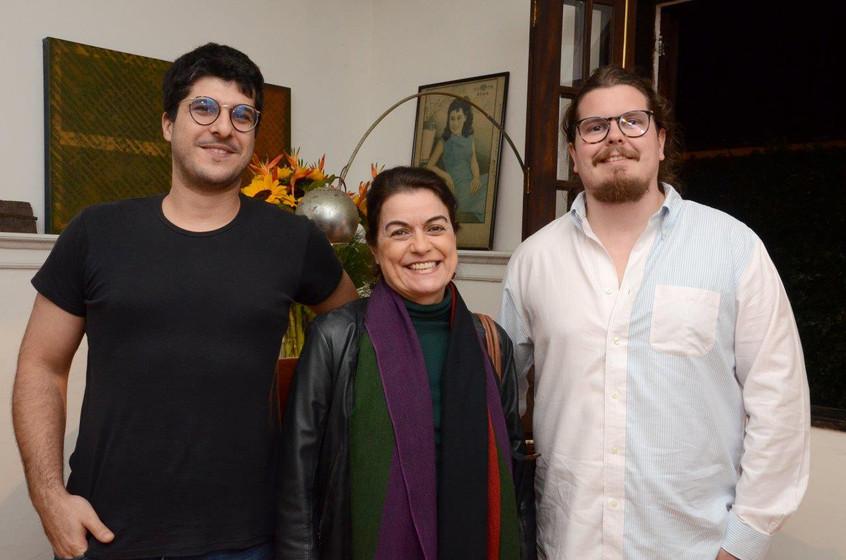 Luiz Gustavo Neive, Lilian Fontes e Bern