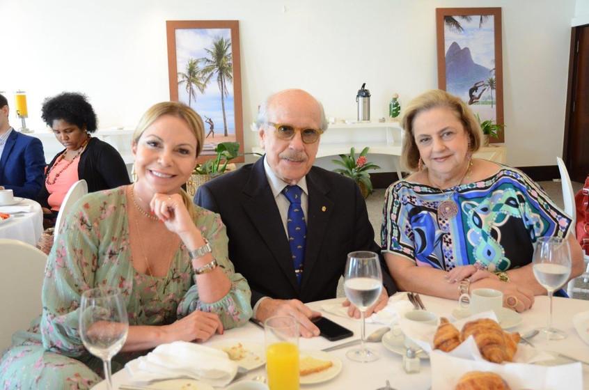 Nina Kauffmann, Claudio e Cristina Aboim