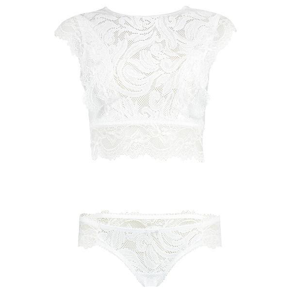 147aafbbff56 Escolher a lingerie ideal para o grande dia é umas das maiores preocupações  da noiva. Seja para valorizar o vestido ou para a noite de núpcias, ...