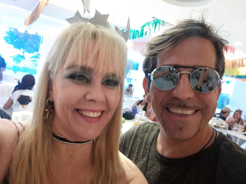 Marisa Araujo e DJ Português