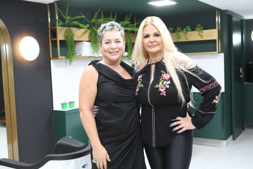 Didi Rocha e Monique Evans 8584