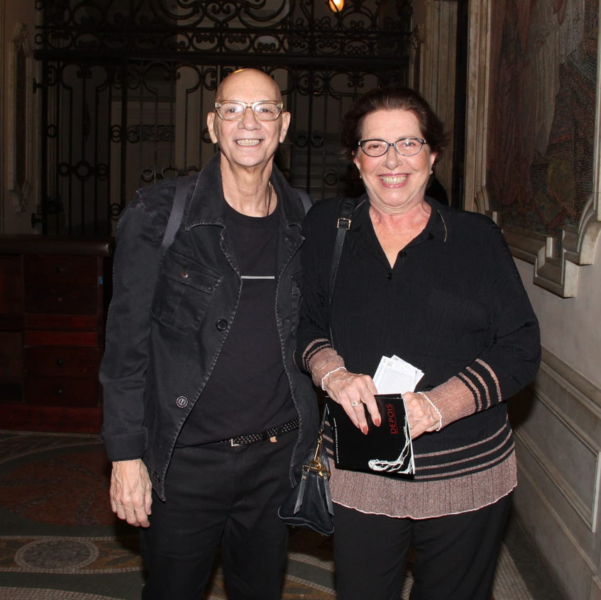 Renato Vieira e Carlota Portella