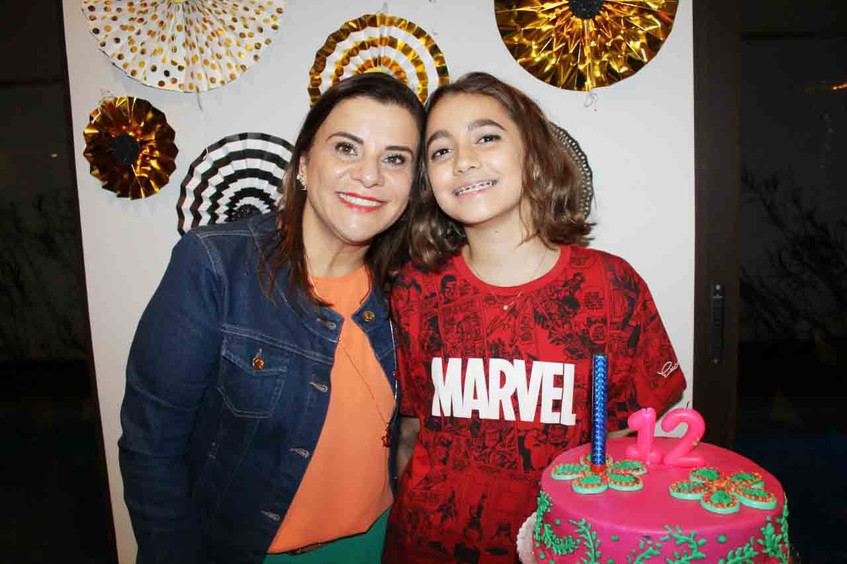 Valentina Oliveira e Lindslei Antunes