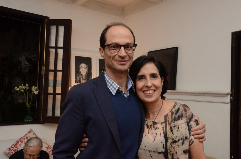 Chico Goes e Mariana Lima