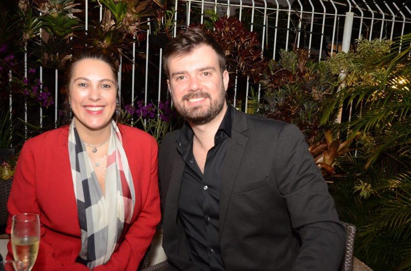 Daniela Ribeiro e Daniel Quentel