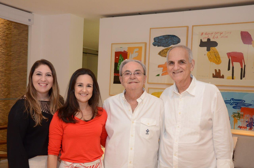 Flavia Etchitel, Lia e Geraldo Lamego e