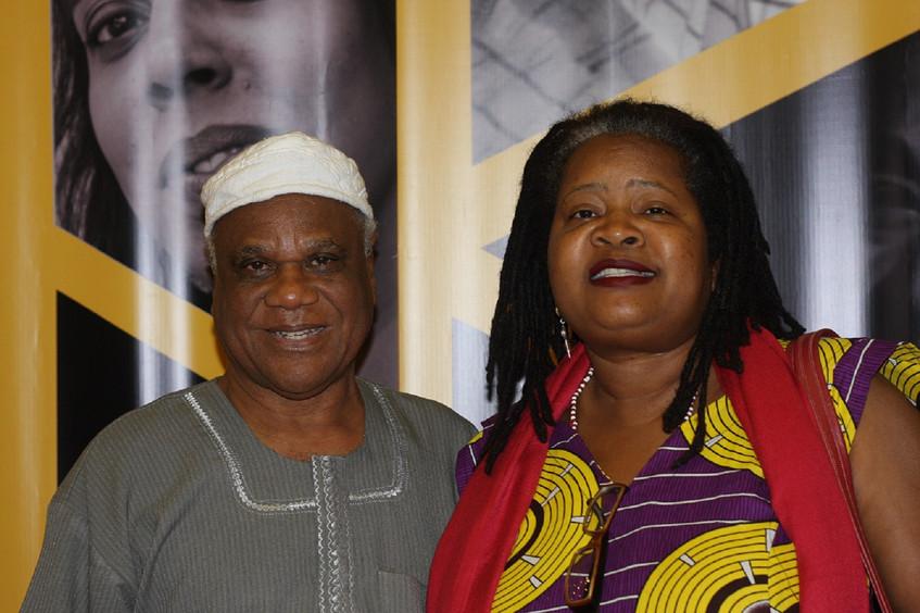 Wilma Reis com Ivanir dos Santos