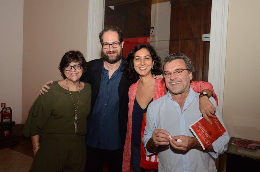 Lucia Ibrahim, Daniel Barretto, Tania Sa