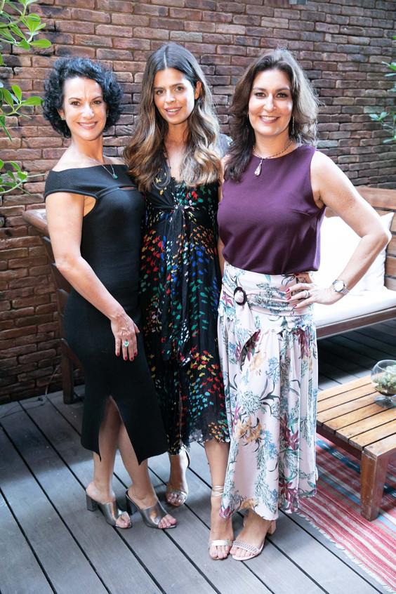 Claudia Terra, Lisa Canha e Roberta Limm