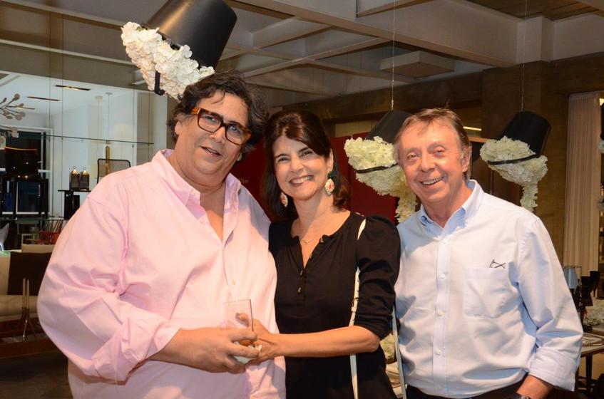 Antonio Neves da Rocha, Viviane e Carlos