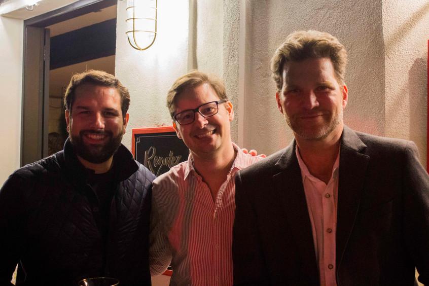 Lucas Albuquerque, Leo Marigo e Carlos B