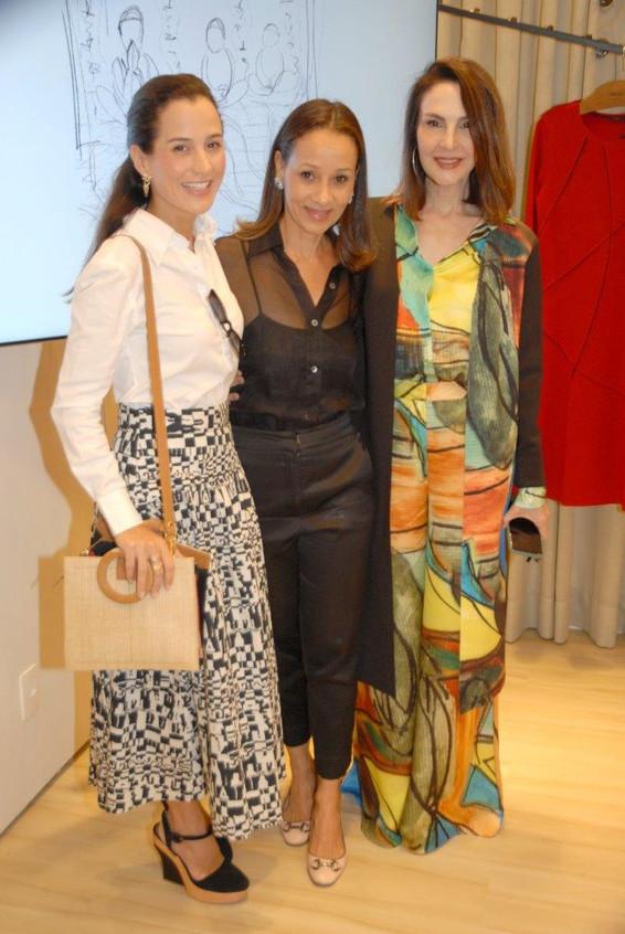 Joana Nolasco, Alessandra Mariz e Toia L