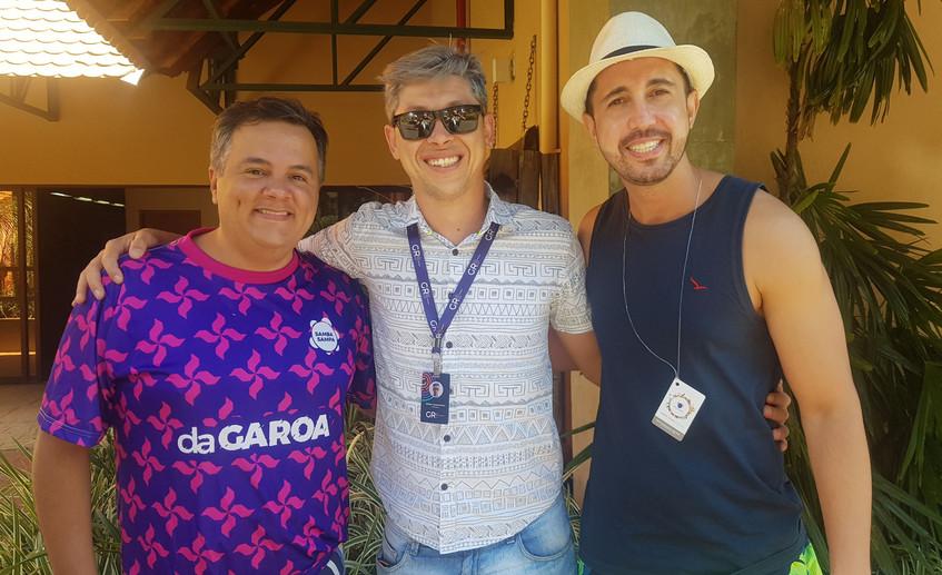 Vladimir Alves, Willian Quennehen e Thia