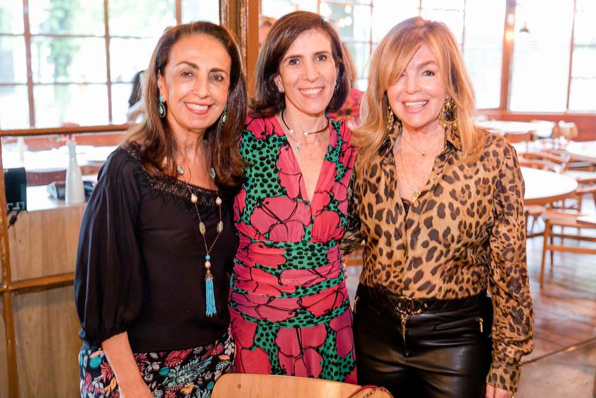Tania Carvalho, Lea Nigri e Sonia Simons