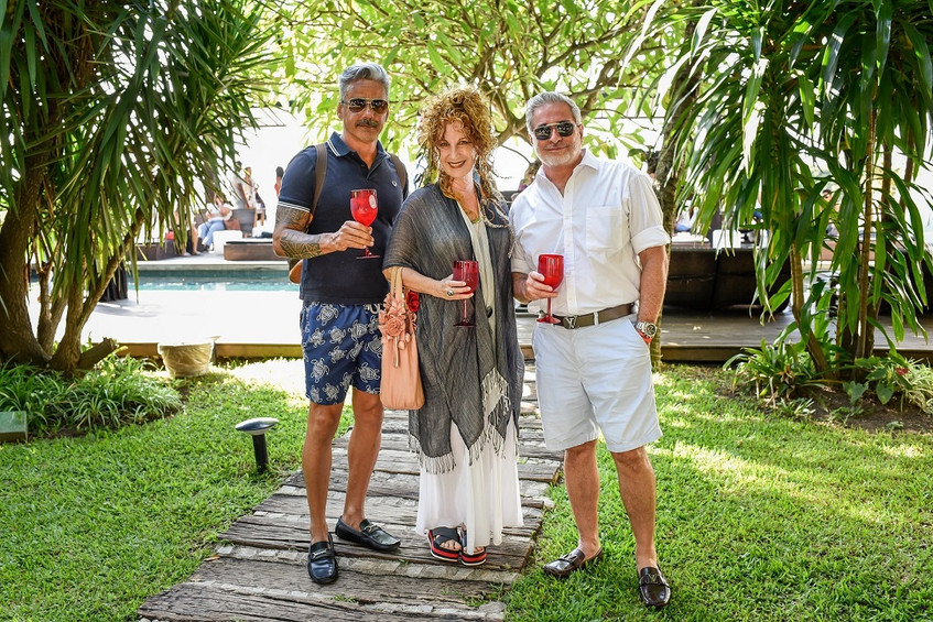 Almir Reis, Suzi Cantarino e Robert Camp