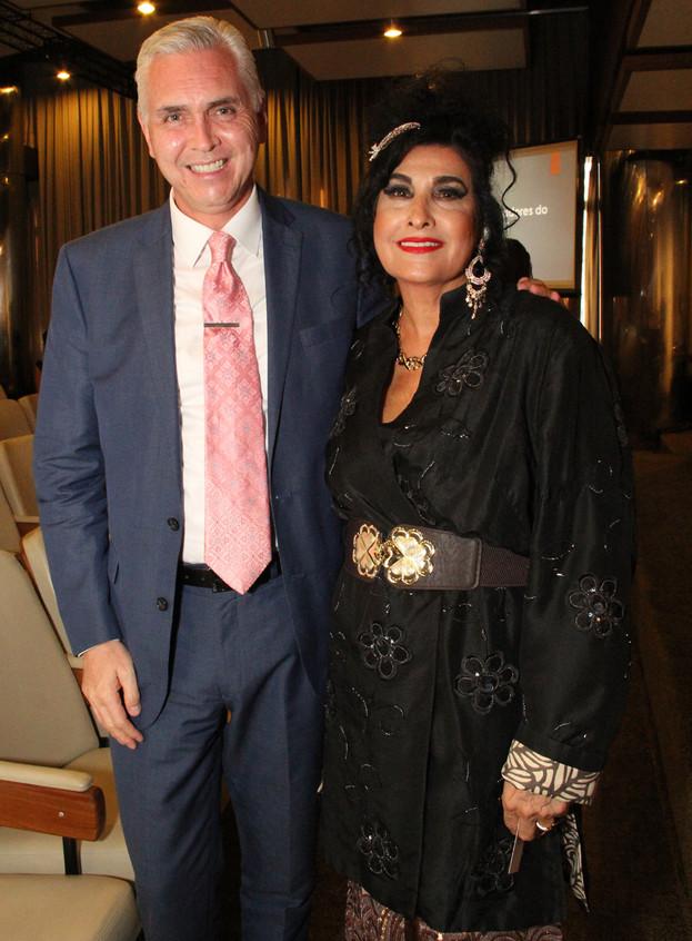 consul EUA Scott Hamilton e Hanna
