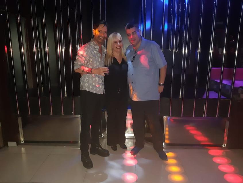 Marcos, Marisa Araujo e João Luiz