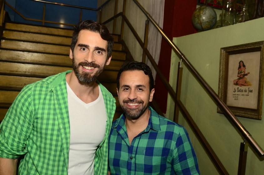 Ivaldo Junior e Guilherme Gonzalez