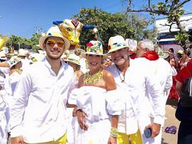 Daniel, Adriana e Enzo
