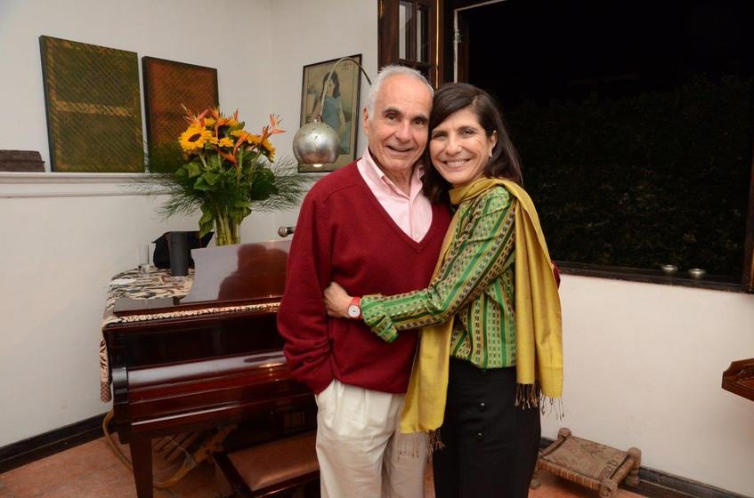 Toni Souza e Silva e Gisela Zincone