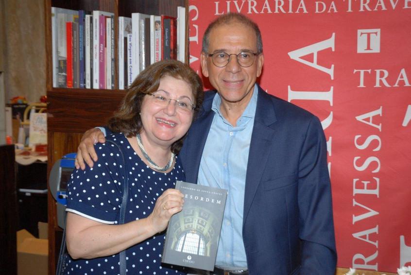 Alberenice Fortunato e Leonardo de Souza