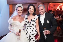Adriana de Rivera, Joy Garrido e Enzo Rivera Citarella