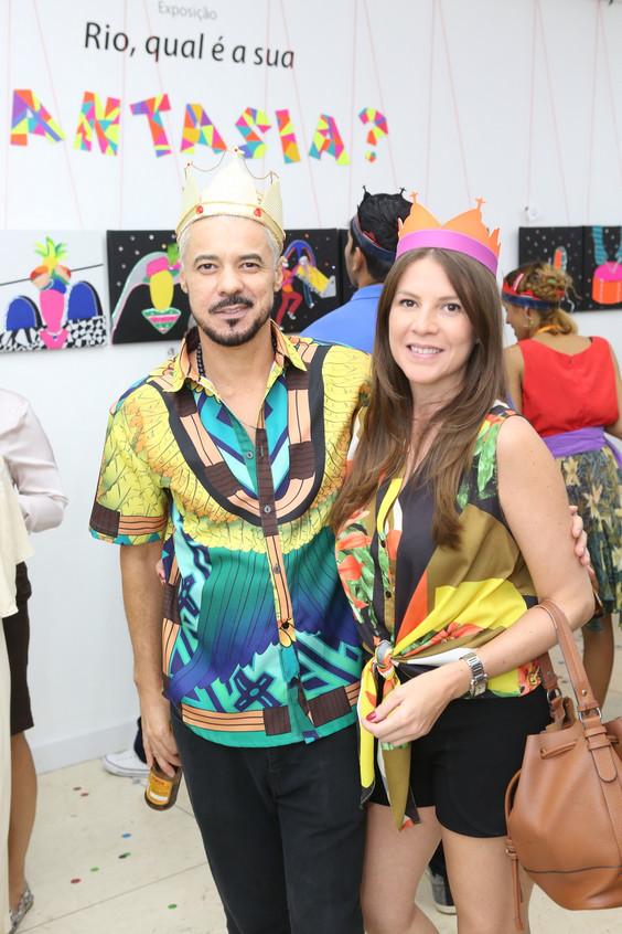 Gilson Martins e Julia Mello7342