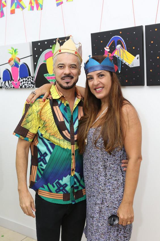 Gilson Martins e Denise Berbert 7305