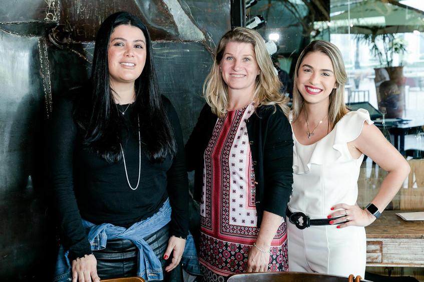 Camilla Mac, Ana Rosa Max e Fernanda Bud