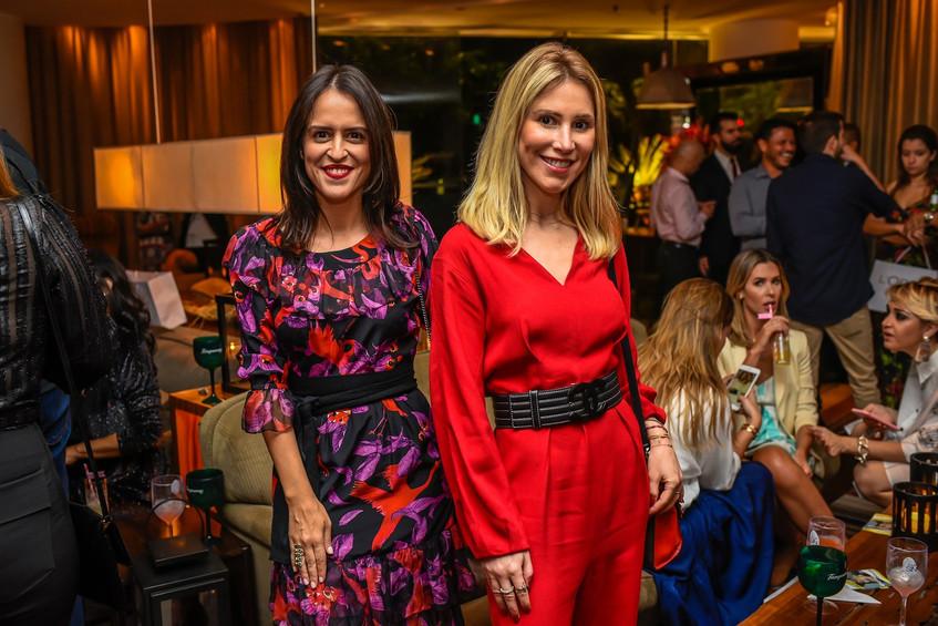 Paula Bezerra de Mello e Juliana Neiva (