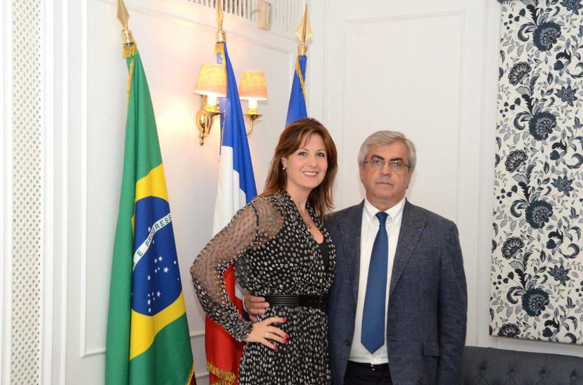Marie Bendelac e Gilberto Ururahy