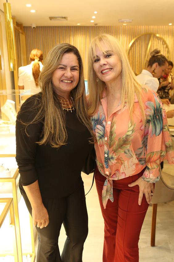 Cris Jordão e Marisa Araujo