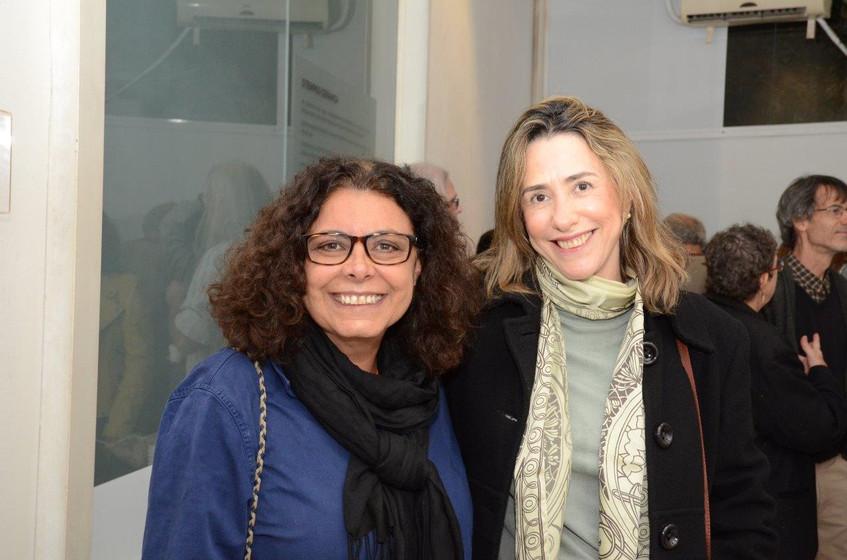 Marcele Tarum e Ivelise Ferreira