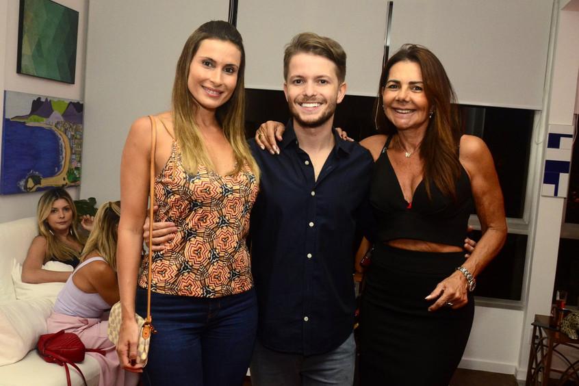 Erica Fonseca, Victor Niskier e Luciana
