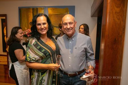 Adelaine Castilho e Dr Guevara