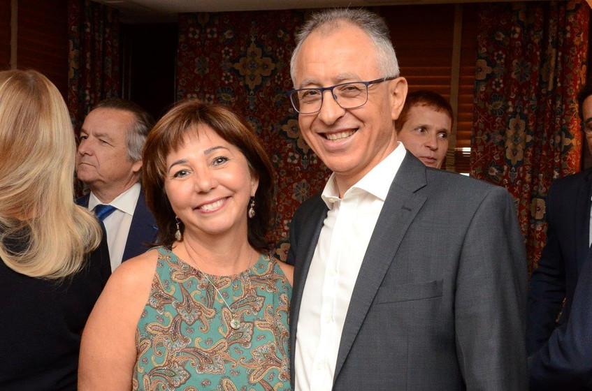 Marcia Ribeiro e Nour Bouhassoun