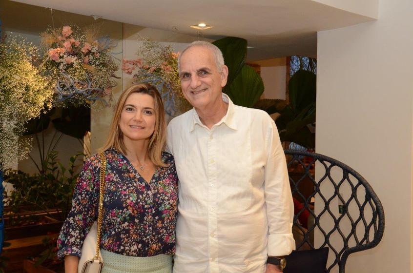 Flavia Marcolini e Nelson Wainer