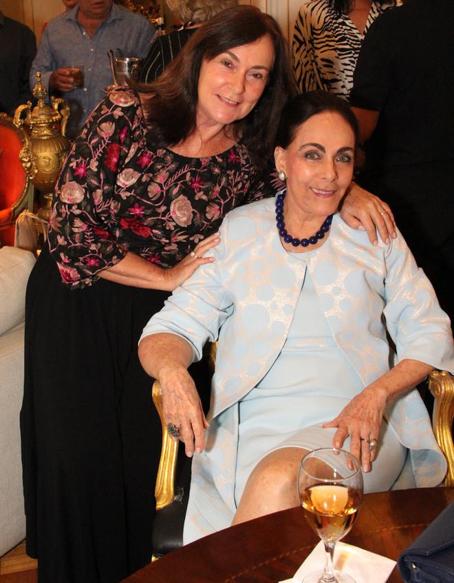 Eva Gomes e Lilian Gurgulino
