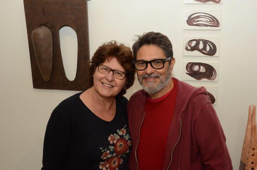 Janete Scarani e Raimundo Rodriguez