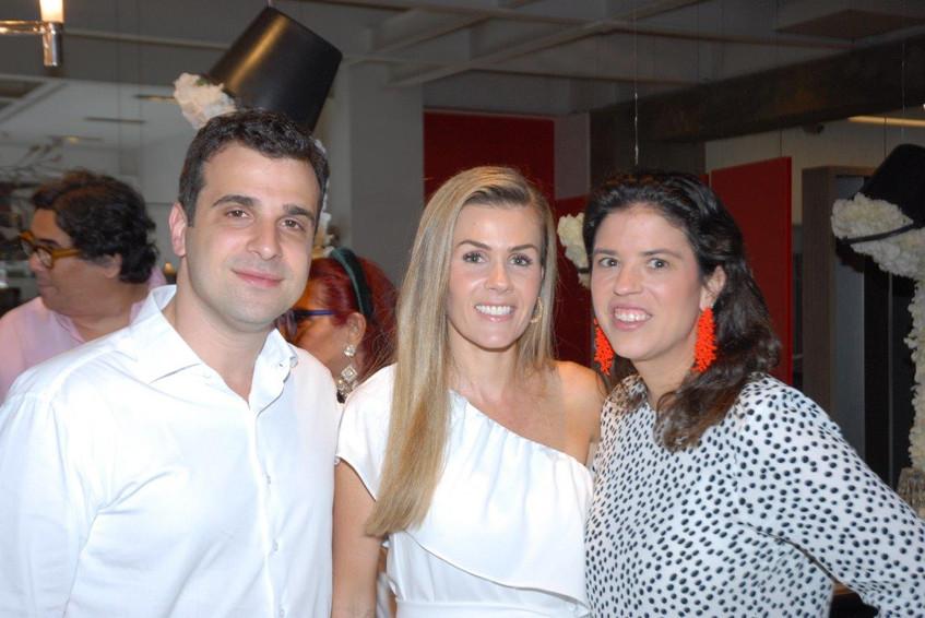 Paulo Crosman, Juliana Neves e Fernanda