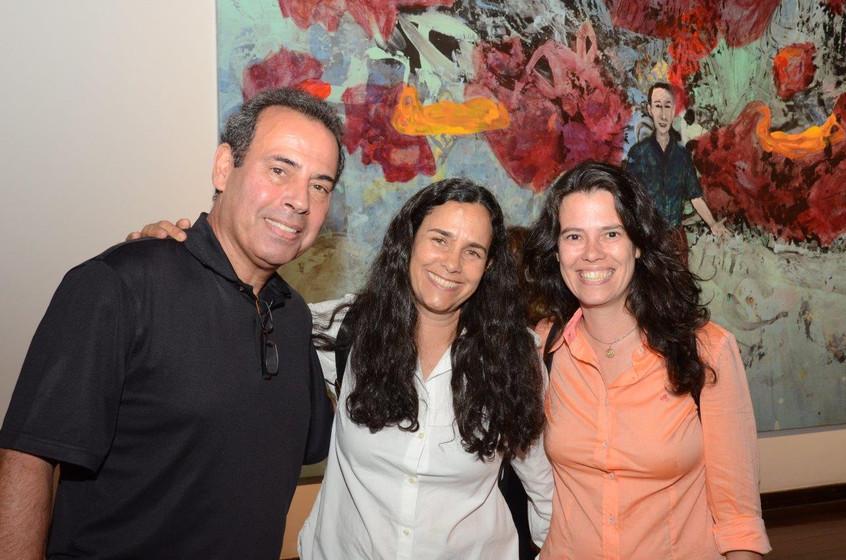 Marcelo Dau, Tatiana Rodrigues e Fabi Cu