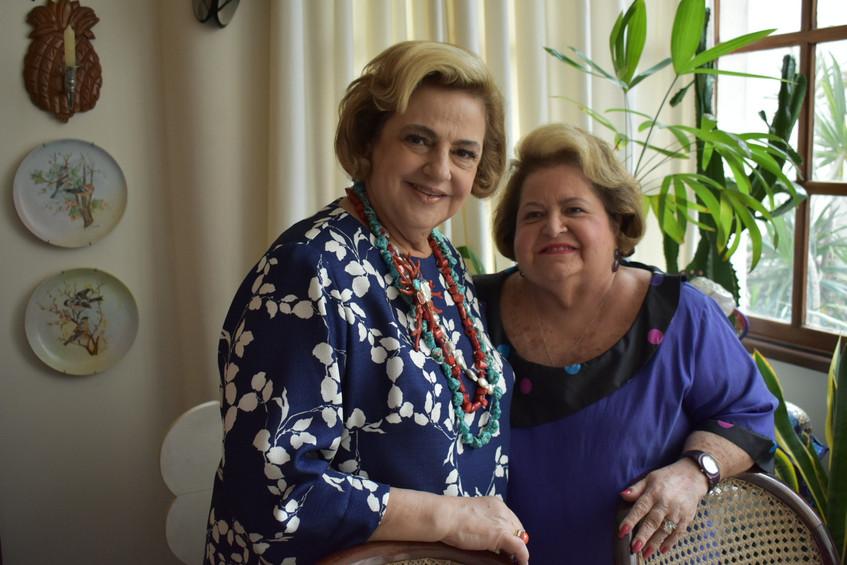 Cristina Aboim e Diva Schottz