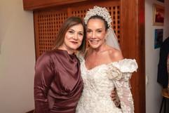 Com a madrinha e amiga Henriqueta Sánchez