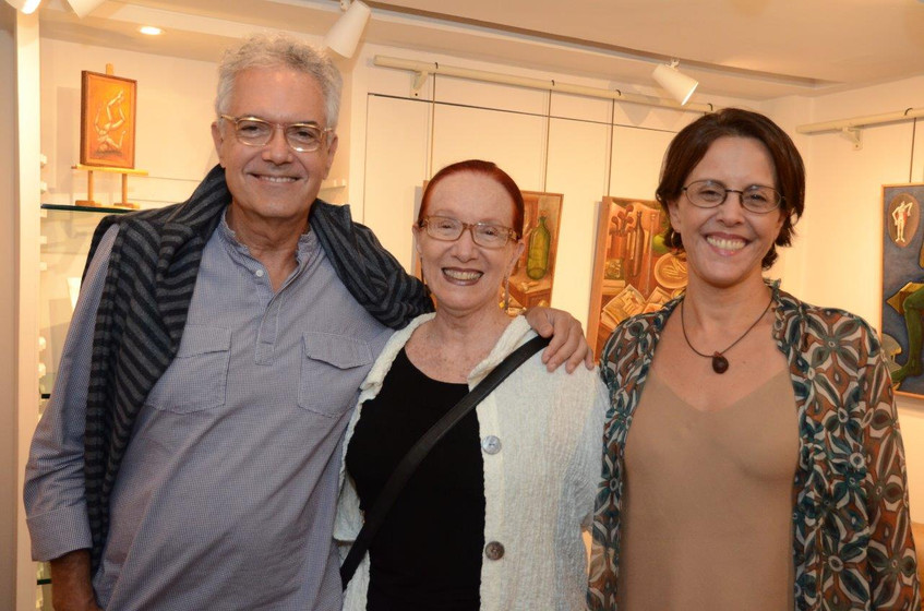Lauro Cavalcanti, Regina Miranda e Laura