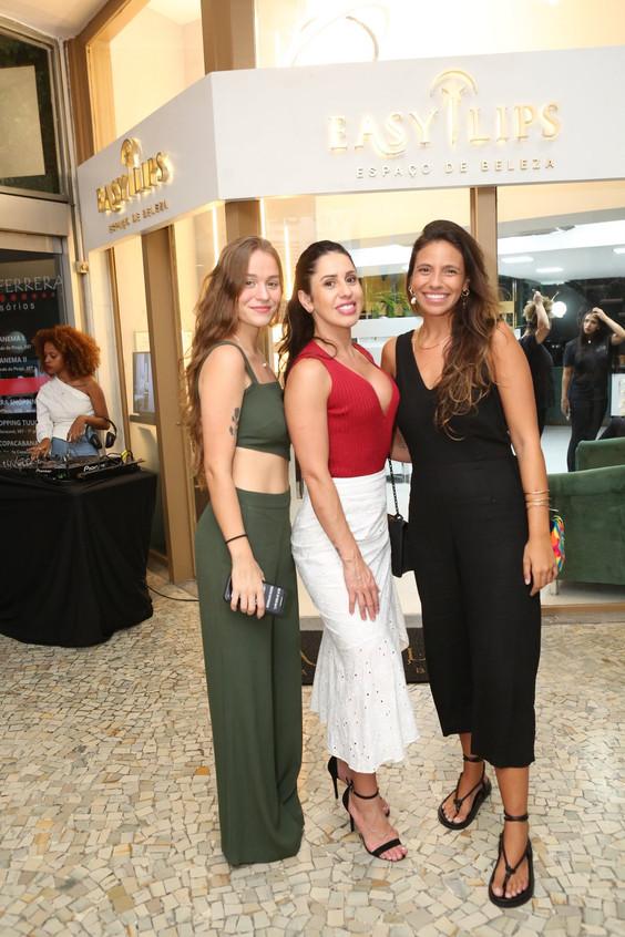 Luiza Beleza, Nediella Guero e Isis Mart