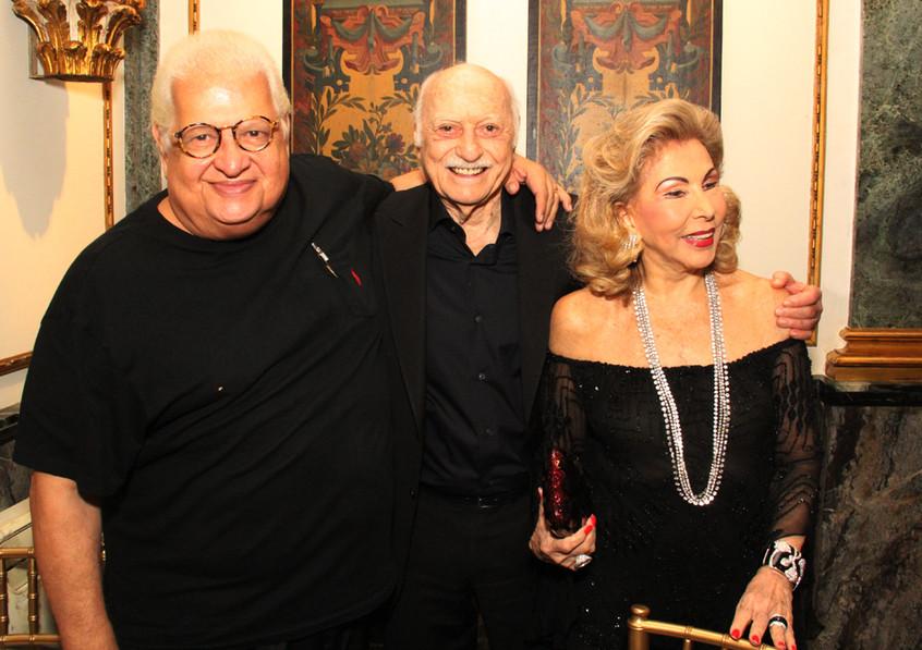 Carlos Serpa , Jair e Mariza Coser