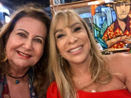 Jaguaracema Paim e Luci Vinhas Silva