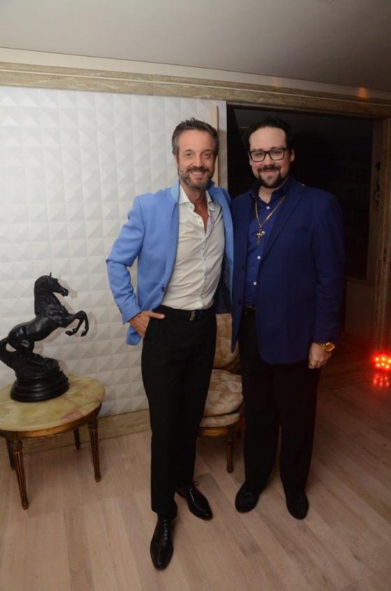 Alexis de Vaulx e Diego Cosac